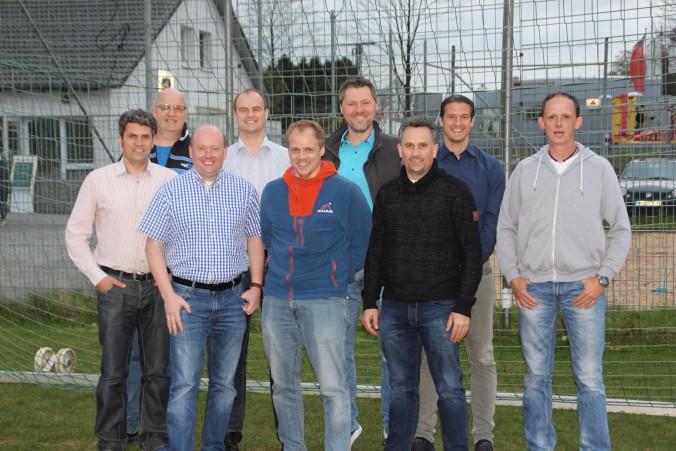 Von links nach rechts hinten: Gert König, Andreas Keferstein, Marc Pütz, Alexander Keferstein Von links nach rechts vorne: Boris Brückers, Marc Beer, Ingo Schrey, Viljo Brückers, Thomas Nöthen